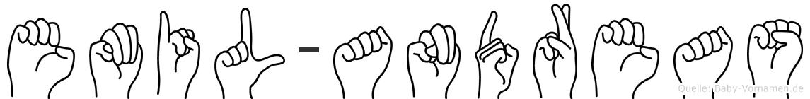 Emil-Andreas im Fingeralphabet der Deutschen Gebärdensprache
