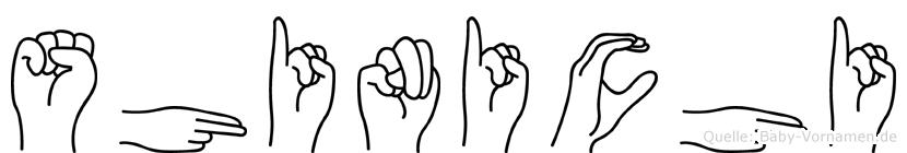 Shinichi in Fingersprache für Gehörlose