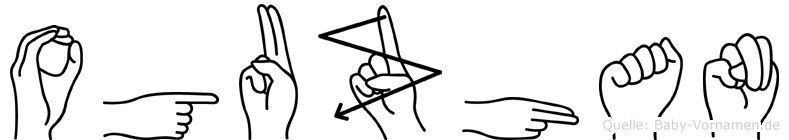 Oguzhan im Fingeralphabet der Deutschen Gebärdensprache