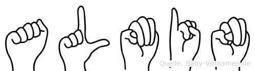 Almin in Fingersprache für Gehörlose