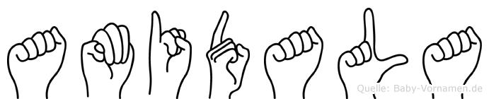 Amidala in Fingersprache für Gehörlose
