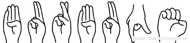 Burbuqe in Fingersprache für Gehörlose