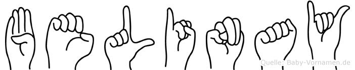 Belinay in Fingersprache für Gehörlose