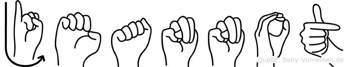 Jeannot in Fingersprache für Gehörlose