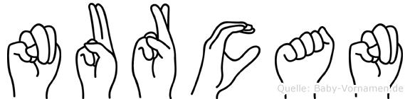 Nurcan im Fingeralphabet der Deutschen Gebärdensprache