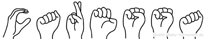 Caressa in Fingersprache für Gehörlose