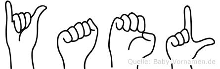 Yael in Fingersprache für Gehörlose