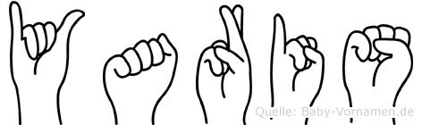 Yaris in Fingersprache für Gehörlose