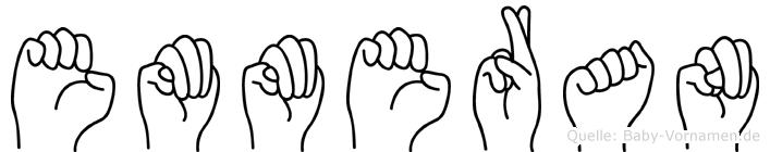 Emmeran in Fingersprache für Gehörlose