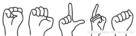 Selda in Fingersprache für Gehörlose