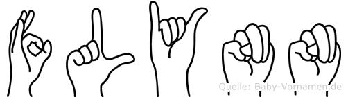 Flynn in Fingersprache für Gehörlose