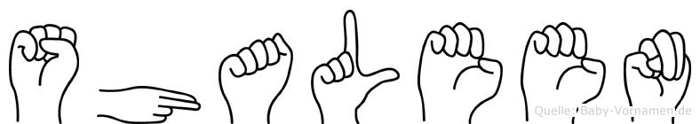 Shaleen in Fingersprache für Gehörlose