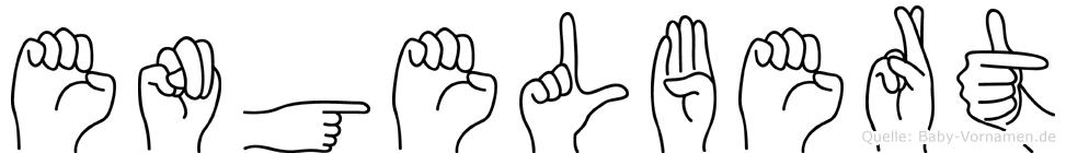 Engelbert in Fingersprache für Gehörlose