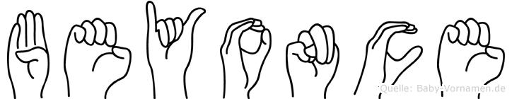 Beyonce in Fingersprache für Gehörlose