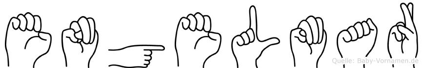 Engelmar in Fingersprache für Gehörlose