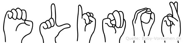 Elinor in Fingersprache für Gehörlose