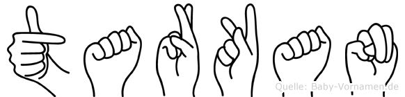Tarkan in Fingersprache für Gehörlose