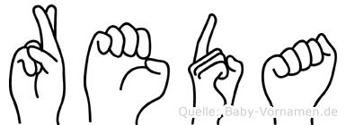 Reda in Fingersprache für Gehörlose