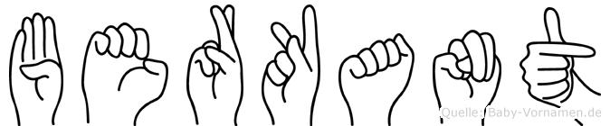 Berkant in Fingersprache für Gehörlose