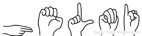 Helmi in Fingersprache für Gehörlose