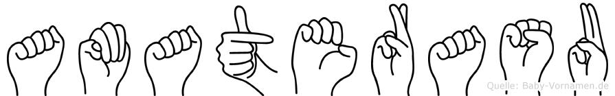 Amaterasu in Fingersprache für Gehörlose