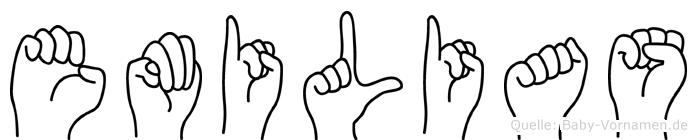 Emilias in Fingersprache für Gehörlose