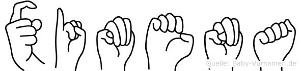 Ximena in Fingersprache für Gehörlose