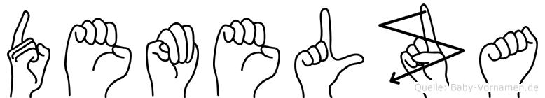 Demelza in Fingersprache für Gehörlose
