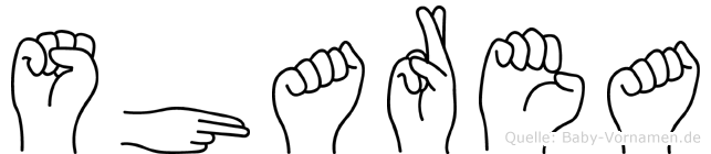 Sharea in Fingersprache für Gehörlose