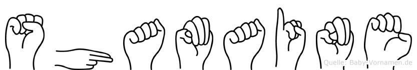 Shamaine in Fingersprache für Gehörlose