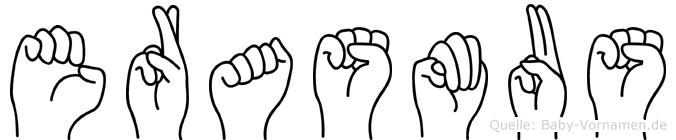 Erasmus in Fingersprache für Gehörlose