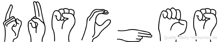 Dusches in Fingersprache für Gehörlose