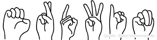 Erdwin in Fingersprache für Gehörlose