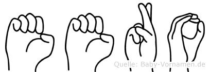Eero in Fingersprache für Gehörlose