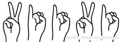 Viivi in Fingersprache für Gehörlose