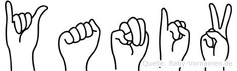 Yaniv im Fingeralphabet der Deutschen Gebärdensprache