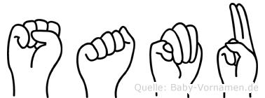 Samu in Fingersprache für Gehörlose