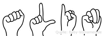 Alin im Fingeralphabet der Deutschen Gebärdensprache