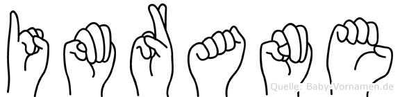 Imrane im Fingeralphabet der Deutschen Gebärdensprache