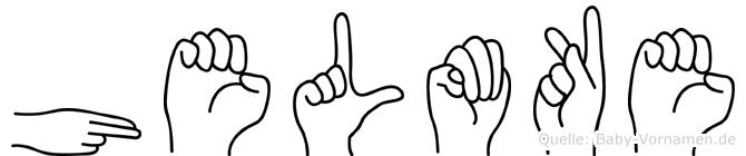 Helmke in Fingersprache für Gehörlose