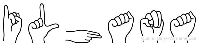 Ilhana in Fingersprache für Gehörlose