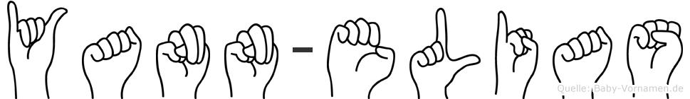 Yann-Elias im Fingeralphabet der Deutschen Gebärdensprache