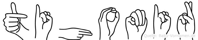 Tihomir in Fingersprache für Gehörlose