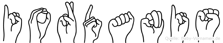 Iordanis in Fingersprache für Gehörlose