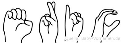 Eric in Fingersprache für Gehörlose