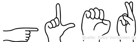 Güler in Fingersprache für Gehörlose