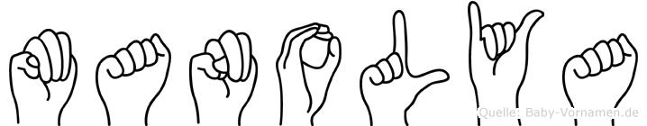 Manolya in Fingersprache für Gehörlose