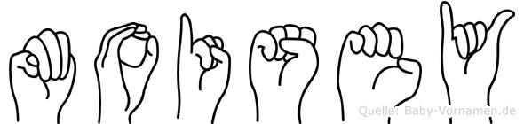 Moisey in Fingersprache für Gehörlose