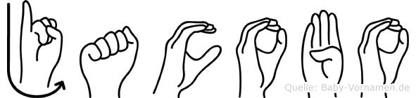 Jacobo in Fingersprache für Gehörlose