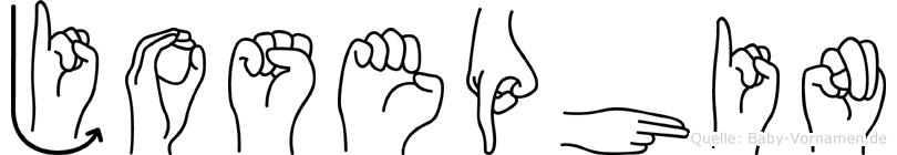 Josephin in Fingersprache für Gehörlose